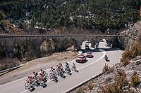 'under the bridge'<br /> <br /> 76th Paris-Nice 2018<br /> stage 6: Sisteron > Vence (198km)