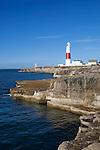 Great Britain, England, Dorset, Isle of Portland, near Weymouth: Portland Bill Lighthouse | Grossbritannien, England, Dorset, Isle of Portland, bei Weymouth: Portland Bill Leuchtturm