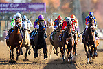 November 7, 2020 : Horses Race during the Longines Distaff on Breeders' Cup Championship Saturday at Keeneland Race Course in Lexington, Kentucky on November 7, 2020. Wendy Wooley/Breeders' Cup/Eclipse Sportswire/CSM