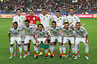 Selección Meexicana  ,durante partido entre las selecciones de Mexico y Guatemala  de la Copa Oro CONCACAF 2015. Estadio de la Universidad de Arizona.<br /> Phoenix Arizona a 12 de Julio 2015.