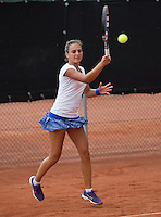 August 6, 2014, Netherlands, Rotterdam, TV Victoria, Tennis, National Junior Championships, NJK,  Phillis Vanenburg (NED)<br /> Photo: Tennisimages/Henk Koster