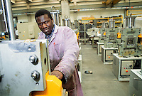 - worker at machine tool factory  FICEP....- operaio presso la fabbrica di macchine utensili FICEP