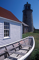 Lighthouse and Museum. Monhegan Island, Maine.