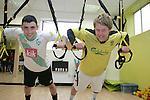 Boyne Rovers Try TRX Training at Labfitness