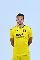 30th July 2020, Turbize, Belgium;   Hendrik Van Crombrugge goalkeeper of Anderlecht pictured during the team photo shoot of RSC Anderlecht prior the Jupiler Pro league football season 2020 - 2021 at Tubize training Grounds.