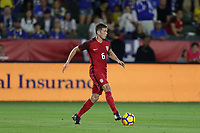 Carson, CA - Sunday January 28, 2018: Wil Trapp during an international friendly between the men's national teams of the United States (USA) and Bosnia and Herzegovina (BIH) at the StubHub Center.