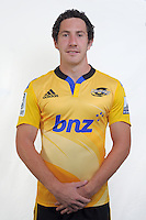 Marty Banks. Hurricanes Super Rugby official headshots at Rugby League Park, Wellington, New Zealand on Friday, 24 January 2014. Photo: Dave Lintott / lintottphoto.co.nz