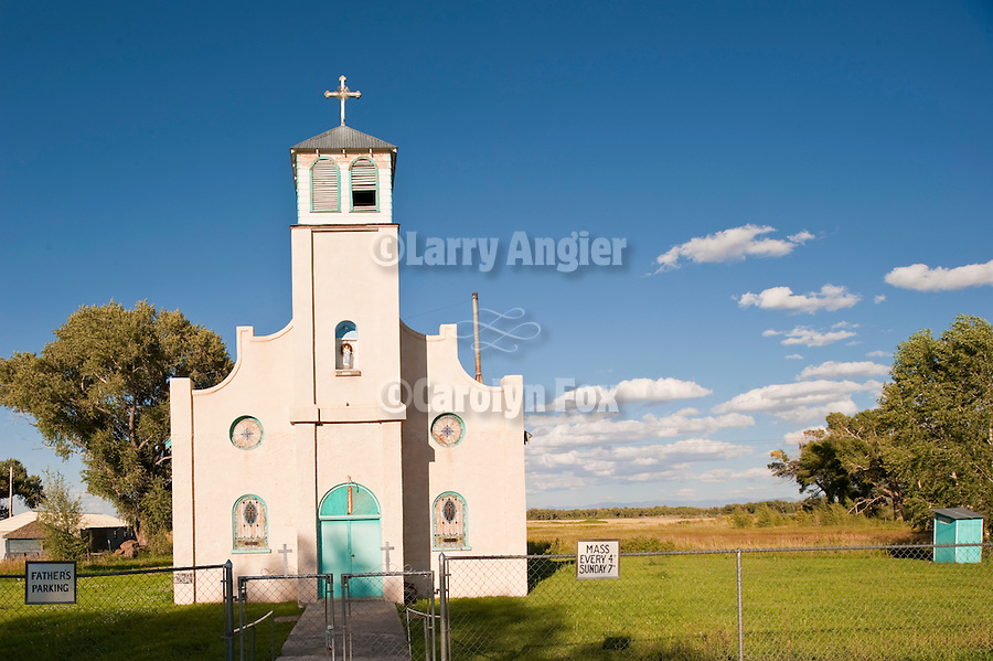 Catholic Church built 1938, San Luis Valley, Colo.
