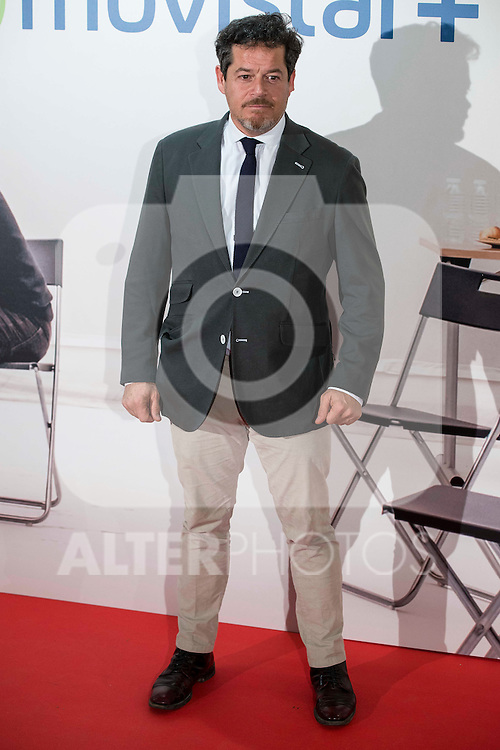 """Jorge Sanz attends to the premire of the film """"Que fue de Jorge Sanz"""" at Cinesa Proyecciones in Madrid. February 10, 2016."""
