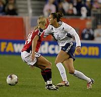 Kate Sobrero, USA vs. Norway, in Boston, Ma, 2003 WWC.