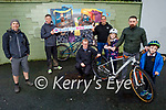 Mountain Biking Kerry are launching their #Buildthebikepark campaign and a petition on a project to build a bike park in Tralee asking everyone to sign the petition the link is on our website mtbky.ie Front l to r: Iseult Brick Dunne, Aunlan Dunne and Arthur Brick Dunne. Kneeling: Dee Walsh. Back l to r: Darragh Mulcahy, Padraig Brown and Graham Kelliher.