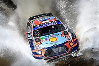 13th March 2020, Guanajuato, Mexico; WRC Rally of Mexico;   Ott Tanak EST - Martin Jarveoja EST in their Hyundai i20 WRC