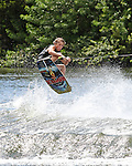 September 12, 2014:  Scenes from the WWA Wakeboard World Championships at Mills Pond Park in Fort Lauderdale, FL.  Amateur Wakeskate. Tyler Sommer USA wins the event.  Liz Lamont/ESW/CSM