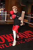 ATLANTIC CITY, NJ - JUNE 8 : Aaron Carter  training at the Showboat hotel on June 8, 2021 in Atlantic City, New Jersey for the Lamar Odom vs. Aaron Carter Celebrity Boxing match this Friday, June 11 <br /> CAP/MPI09<br /> ©MPI09/Capital Pictures