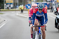 Niki Terpstra (NED/Total - Direct Energie) bridging the gap towards the breakaway group<br /> <br /> 64th E3 Classic 2021 (1.UWT)<br /> 1 day race from Harelbeke to Harelbeke (BEL/204km)<br /> <br /> ©kramon