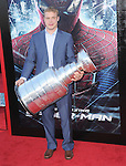Dustin Brown attends  COLUMBIA PICTURES' THE AMAZING SPIDER-MAN Premiere held at Regency Village Theater in Westwood, California on June 28,2012                                                                               © 2012 Hollywood Press Agency