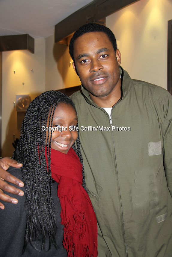 Lamman Rucker & K Little- Layon Gray's Black Angels Over Tuskegee was performed on February 25, 2011 at the United States Memorial in Washington, DC to celebrate Black History Month. (Photo by Sue Coflin/Max Photos)