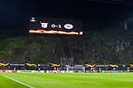 26.02.2020 SC Braga v Rangers: The cliff face in Braga tells the score