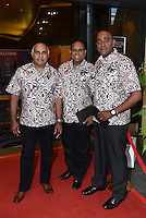Fiji Officials. Official Draw for the FIFA U 20 Football World Cup, New Zealand 2015. Sky City, Auckland. Tuesday 10 February 2015. Copyright photo: Andrew Cornaga / www.photosport.co.nz
