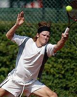 16-8-06,Amsterdam, Tennis, NK, First round match, Nick van der Meer