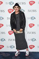 Amy Wadge<br /> at The Ivor Novello Awards 2017, Grosvenor House Hotel, London. <br /> <br /> <br /> ©Ash Knotek  D3267  18/05/2017