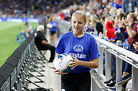 Saint Paul, MN - Tuesday September 03, 2019 : Ball kid during a 2019 Victory Tour match between Portugal and the United States at Allianz Field, on September 03, 2019 in Saint Paul, Minnesota.