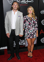 HOLLYWOOD, LOS ANGELES, CA, USA - MAY 31: Derek James, Vanessa Ray at the 'Pretty Little Liars' 100th Episode Celebration held at W Hotel Hollywood on May 31, 2014 in Hollywood, Los Angeles, California, United States. (Photo by Xavier Collin/Celebrity Monitor)