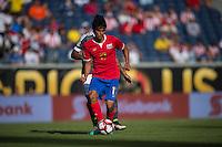 Orlando, Florida - Saturday, June 04, 2016: Costa Rican midfielder Yeltsin Tejeda (17) during a Group A Copa America Centenario match between Costa Rica and Paraguay at Camping World Stadium.