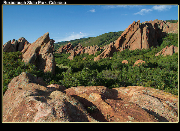 Early morning at Roxborough Park, southwest Denver.<br />