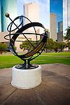 Historic Sam Houston Park in Downtown Houston, Texas.