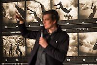 Nach zwei Jahren ohne eigene Ausstellungsraeume eroeffnet die Galerie fuer Photographie C/O Berlin am 30. Oktober 2014 am neuen Standort im Amerika Haus am Bahnhof Zoo in der Hardenbergstraße 22-24 in Berlin-Charlottenburg.<br /> Am Mittwoch den 29. Oktober 2014 gab es ein Opening fuer die Presse.<br /> Im Bild: Felix Hoffmann, Hauptkurator.<br /> 29.10.2014, Berlin<br /> Copyright: Christian-Ditsch.de<br /> [Inhaltsveraendernde Manipulation des Fotos nur nach ausdruecklicher Genehmigung des Fotografen. Vereinbarungen ueber Abtretung von Persoenlichkeitsrechten/Model Release der abgebildeten Person/Personen liegen nicht vor. NO MODEL RELEASE! Don't publish without copyright Christian-Ditsch.de, Veroeffentlichung nur mit Fotografennennung, sowie gegen Honorar, MwSt. und Beleg. Konto: I N G - D i B a, IBAN DE58500105175400192269, BIC INGDDEFFXXX, Kontakt: post@christian-ditsch.de<br /> Urhebervermerk wird gemaess Paragraph 13 UHG verlangt.]
