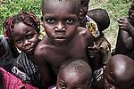 CAR, Bangui: Children living in the Mpoko camp. Some of them, the youngest ones were born in the camp.  15th April 2016.<br /> RCA, Bangui : Enfants qui vivent dans le camp Mpoko . Certains d'entre eux , les plus jeunes sont nés dans le camp . 15 avril 2016.