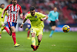 Angel Luis Rodriguez Diaz of Getafe CF in action during the La Liga 2017-18 match between Atletico de Madrid and Getafe CF at Wanda Metropolitano on January 06 2018 in Madrid, Spain. Photo by Diego Gonzalez / Power Sport Images