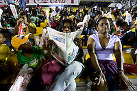 Jamaican fans. The United States played Jamaica during the CONCACAF Men's Under 17 Championship at Catherine Hall Stadium in Montego Bay, Jamaica.
