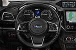 Car pictures of steering wheel view of a 2018 Subaru XV Premium 5 Door SUV
