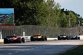 #55: Alex Palou,  Dale Coyne Racing with Team Goh Honda, #28: Ryan Hunter-Reay, Andretti Autosport Honda, #12: Will Power, Team Penske Chevrolet, #9: Scott Dixon, Chip Ganassi Racing Honda