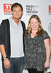 Julie Plec & Kevin Williamson at The Paley Fest : Fall TV Preview Party presented by TV Guide of The CW - The Vampire Diaries & Melrose Place held at The Paley Center in Beverly Hills, California on September 14,2009                                                                   Copyright 2009 DVS / RockinExposures