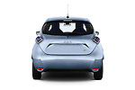 Straight rear view of a 2013 Renault Zoe Life ZE Hatchback2013 Renault Zoe Life ZE Hatchback
