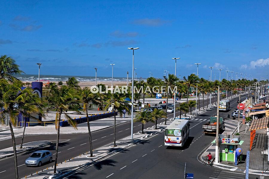 Praia Atalaia Nova em Aracaju. Sergipe. 2010. Foto de Rogerio Reis.