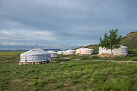 Mongolia, Gobi Gurvan Saikhan National Park, Gobi Desert, Three Camel Lodge.