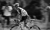 Jan Bakelants (BEL/Ag2r-LaMondiale) up the Lacets de Montvernier (2C/782m/3.4km, 8.2%)<br /> <br /> stage 18: Gap - St-Jean-de-Maurienne (187km)<br /> 2015 Tour de France