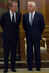 12.09,2012. King Juan Carlos I of Spain attend the delivery of 'XXIII FIES Journalism Award', awarded to Juan Manuel de Prada at the Zarzuela Palace. In the image Carlos Fitz-James Stuart (Alterphotos/Marta Gonzalez)