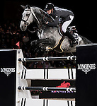 Simon Delestre from France rides during the Longines Hong Kong Masters on 2 March 2013 at the Asia World-Expo in Hong Kong, China. Photo by Manuel Queimadelos / The Power of Sport Images