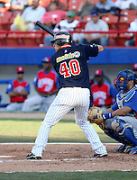 Wilson Ramos / Venezuela - 2009 Caribbean Series, Mexicali..Photo by:  Bill Mitchell/Four Seam Images