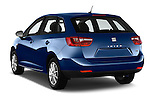 Car pictures of rear three quarter view of 2016 Seat Ibiza ST Style 5 Door Wagon Angular Rear