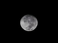 Setting full Moon, Manila Philippines