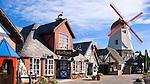 The Danish community of Solvang, Santa Barbara County, California