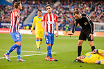 "Atletico de Madrid Gabriel ""Gabi"" Fernández and Koke Resurrección during La Liga match between Atletico de Madrid and UD Las Palmas at Vicente Calderon Stadium in Madrid, Spain. December 17, 2016. (ALTERPHOTOS/BorjaB.Hojas)"