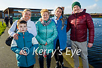 Enjoying a stroll in the Tralee Bay Wetlands on Sunday l to r: Dominic, Magga, Janet, Monica and Thomas Novak.