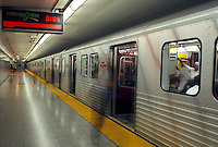 subway, Toronto, Canada, Ontario, Dondas Subway Station in Toronto.
